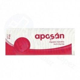 APOSAN ALGODON ZIG-ZAG PURO 50 G