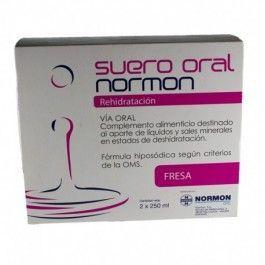 NORMON SUERO ORAL FRESA 250 ML 2 U