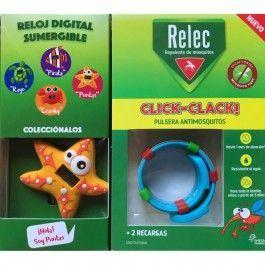 OMEGA PHARMA RELEC CLICK CLACK PULSERA ANTIMOSQUITOS REGALO ESTRELLA