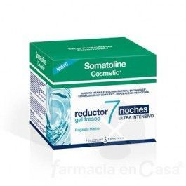 SOMATOLINE REDUCTOR 7 NOCHES 400 ML GEL FRESCO