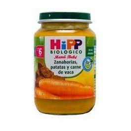 HIPP POTITO ZANAHORIA PATATA CARNE VACA 190G