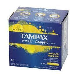 TAMPAX COMPAK REGULAR 22 UNIDS