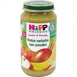HIPP FRUTAS VARIADAS CON CEREALES 250G