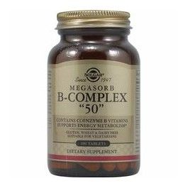 SOLGAR MEGASORB B-COMPLEX 50 CMP
