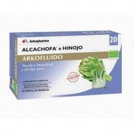 ARKOFLUIDO ALCACHOFA HINOJO 20 AMPOLLAS