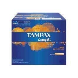 TAMPAX COMPAK SUPER PLUS 22 UDS