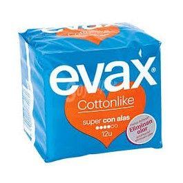 EVAX COTTONLIKE ALAS SUPER 12 UNID (NARANJA)