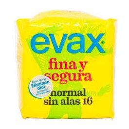 EVAX FINA Y SEGURA NORMAL SIN ALAS 16UNID