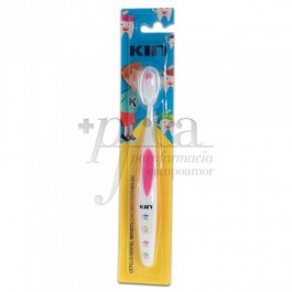KIN CEPILLO DENTAL INFANTIL 2X1