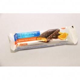 BIMANAN 1 BARRITA CHOCOATE NEGRO CON NARANJA 1 UNIDAD