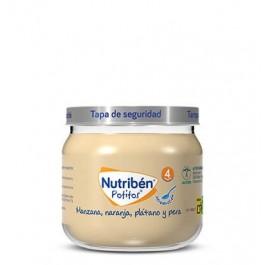 NUTRIBEN POTITO INICIO A LAS MULTIFRUTAS MANZANA NARANJA PLATANO Y PERA 120 G