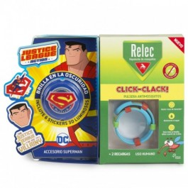 OMEGA RELEC PULSERA + STICK SUPERMAN