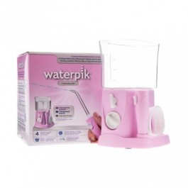 IRRIGADOR BUCAL ELECTRICO WATERPIK WP- 300 TRAVE VIAJES PINK
