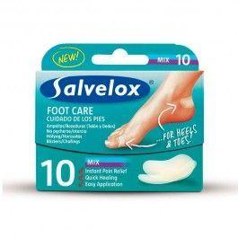 SALVELOX PROTECTORES APOSITOS HIDROCOLOIDES 40 X 61 MM/ 21 X 64 MM 10 U