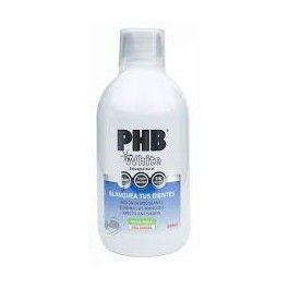 PHB WHITE ENJUAGUE BUCAL 500 ML